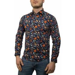 Vêtements Homme Chemises manches longues Sun68 S19102 blu china