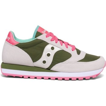 Chaussures Femme Baskets basses Saucony 1044A green/white/pink