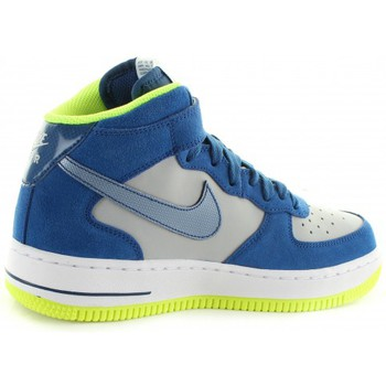 Chaussures Enfant Baskets montantes Nike Air Force 1 Mid Jr Gris