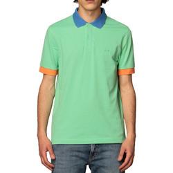 Vêtements Homme Polos manches courtes Sun68 A31112 verde chiaro