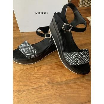 Chaussures Femme Sandales et Nu-pieds Adige sandales ADIGE Noir