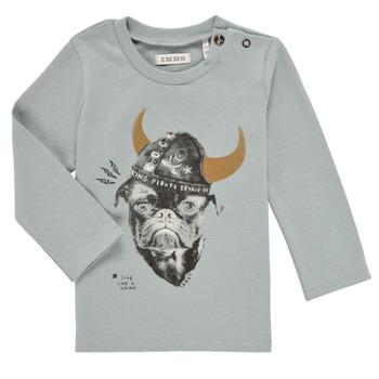 Vêtements Garçon T-shirts manches longues Ikks CHAUDRON Bleu