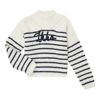 Vêtements Fille Pulls Ikks CITRON Blanc