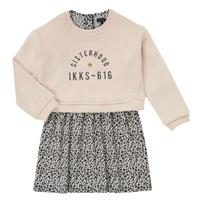 Vêtements Fille Robes courtes Ikks MENTHE Beige