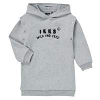 Vêtements Fille Robes courtes Ikks NOISETTE Gris