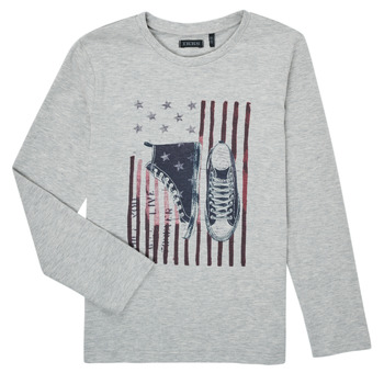 Vêtements Garçon T-shirts manches longues Ikks SAPHIR Gris