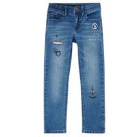 Vêtements Garçon Jeans slim Ikks VANILLE Bleu