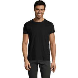Vêtements Homme T-shirts manches courtes Sols Camiseta IMPERIAL FIT color Negro Negro