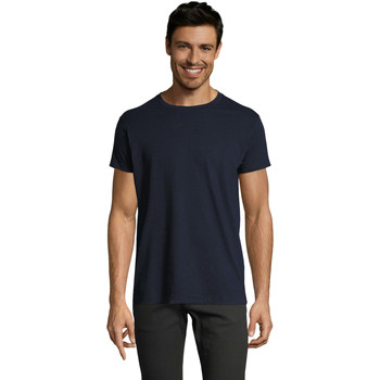 Vêtements Homme T-shirts manches courtes Sols Camiseta IMPERIAL FIT color French Marino Azul