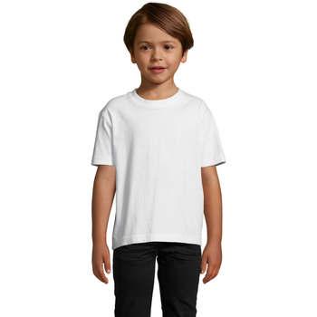 Vêtements Enfant T-shirts manches courtes Sols Camista infantil color blanco Blanco