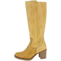 Chaussures Femme Bottes ville MTNG 93122 Jaune