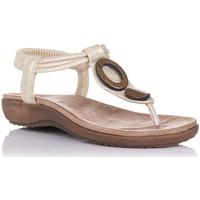 Chaussures Femme Sandales et Nu-pieds Zapp 17063 Doré