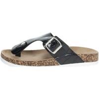 Chaussures Femme Tongs Laura Biagiotti 6858 Noir
