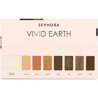 Beauté Femme Fards à paupières & bases Sephora Palette 7 couleurs Vivid Earth Wild nature