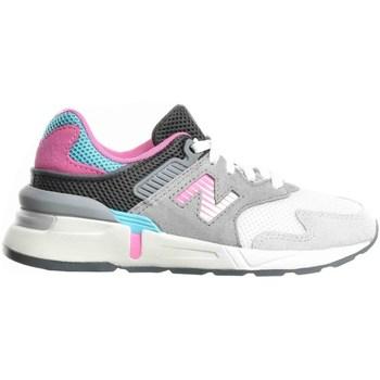 Chaussures Enfant Running / trail New Balance 997 Blanc, Gris