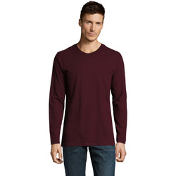 Vêtements Homme T-shirts manches longues Sols Camiseta manga larga Burdeo