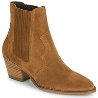Chaussures Femme Bottines Minelli VELIA Marron