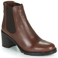 Chaussures Femme Bottines Minelli PETRINA Marron