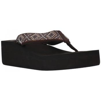 Chaussures Femme Tongs Kelara K12002 Mujer Marron marron