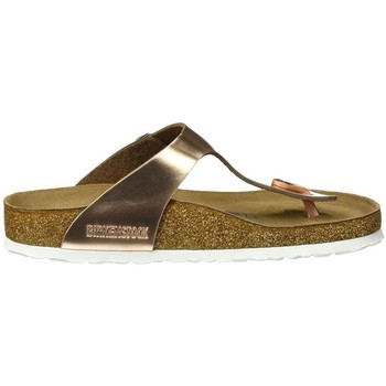 Chaussures Femme Tongs Birkenstock GIZEH Or