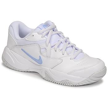 Chaussures Femme Baskets basses Nike WMNS NIKE COURT LITE 2 Blanc / Argent