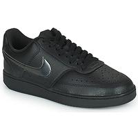 Chaussures Femme Baskets basses Nike WMNS NIKE COURT VISION LOW Noir