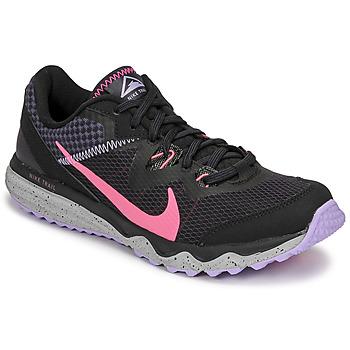 Chaussures Femme Running / trail Nike WMNS NIKE JUNIPER TRAIL Noir / Rose