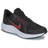 Chaussures Homme Running / trail Nike NIKE QUEST 4 Noir / Rouge