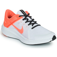 Chaussures Femme Running / trail Nike WMNS NIKE QUEST 4 Blanc / Rose
