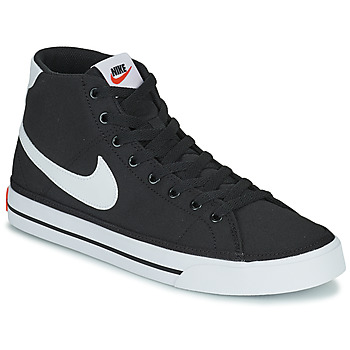 Chaussures Homme Baskets montantes Nike NIKE COURT LEGACY CNVS MID Noir / Blanc