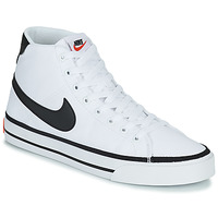 Chaussures Homme Baskets montantes Nike NIKE COURT LEGACY CNVS MID Blanc / Noir