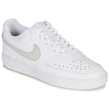 Chaussures Femme Baskets basses Nike WMNS NIKE COURT VISION LO Blanc / Rose