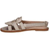 Chaussures Femme Sandales et Nu-pieds Annalu' FLAT01 PLATINE