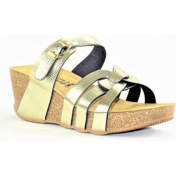 Chaussures Femme Mules La Maison De L'espadrille MULEESPA OR