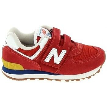 Chaussures Garçon Baskets basses New Balance PV574 C Rouge Rouge