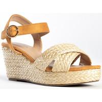 Chaussures Femme Sandales et Nu-pieds Celena Sandales compensées COTRIN beige