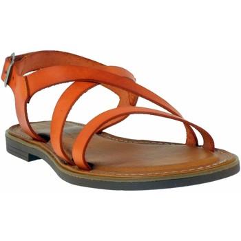 Chaussures Femme Sandales et Nu-pieds Wikers -77150 Orange