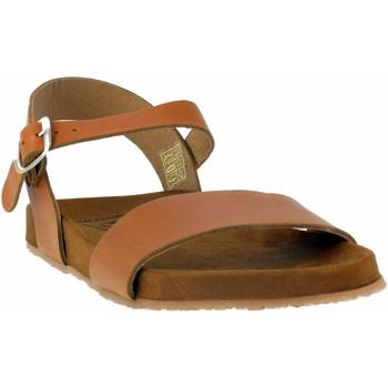 Chaussures Femme Sandales et Nu-pieds Wikers -64104 Beige