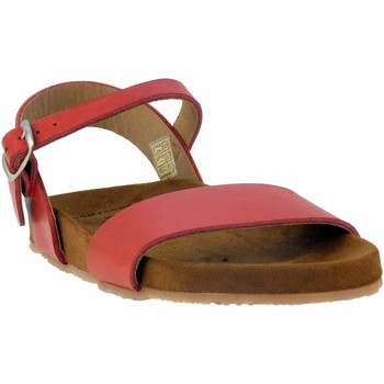 Chaussures Femme Sandales et Nu-pieds Wikers -64104 Rouge