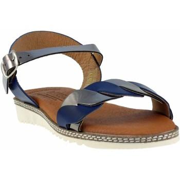 Chaussures Femme Sandales et Nu-pieds Wikers -42081 Bleu