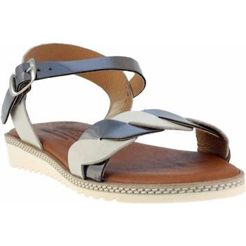 Chaussures Femme Sandales et Nu-pieds Wikers -42081 Beige