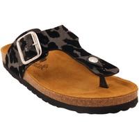 Chaussures Femme Sandales et Nu-pieds Santafe Bio Kitch Noir