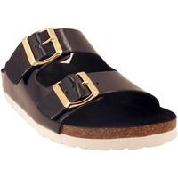 Chaussures Femme Sandales et Nu-pieds Santafe bio actuelle Noir