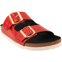 Chaussures Femme Sandales et Nu-pieds Santafe bio actuelle Rouge