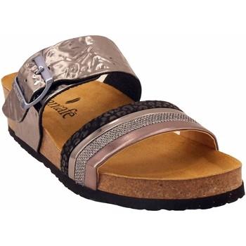 Chaussures Femme Sandales et Nu-pieds Santafe Bio caline Noir