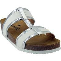 Chaussures Femme Sandales et Nu-pieds Santafe Bio vague Blanc