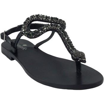 Chaussures Femme Sandales et Nu-pieds Santafe Nikita Noir