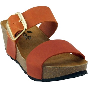 Chaussures Femme Sandales et Nu-pieds Santafe Santa Sun Orange