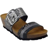 Chaussures Femme Sandales et Nu-pieds Santafe Bio noctambule Noir