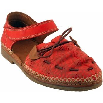 Chaussures Femme Sandales et Nu-pieds Coco & Abricot V1818H-SABAL Rouge